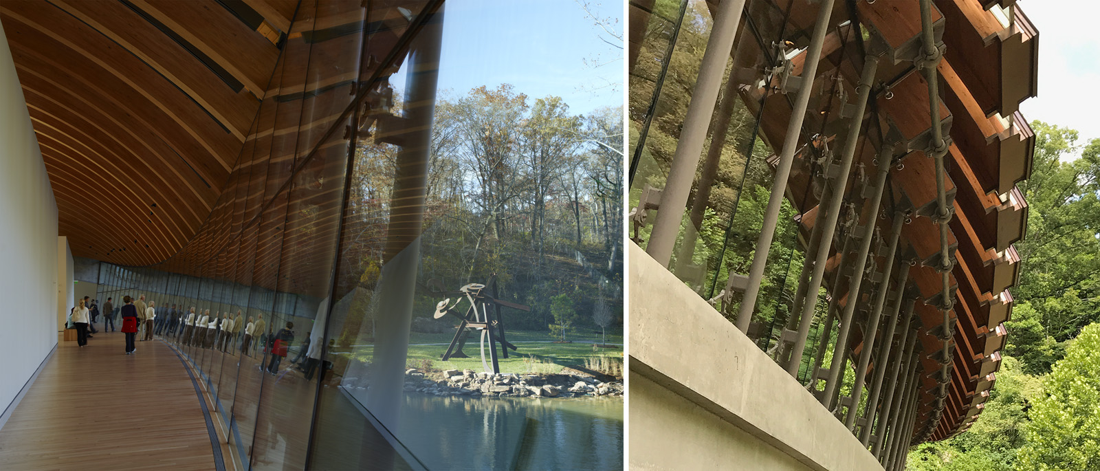 nature museum bridges crystal american resources safdie